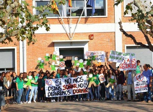 La huelga de educación vacía las aulas de alumnos