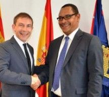 El embajador de Mali visita Binéfar