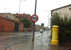 Tremenda tormenta en La Litera