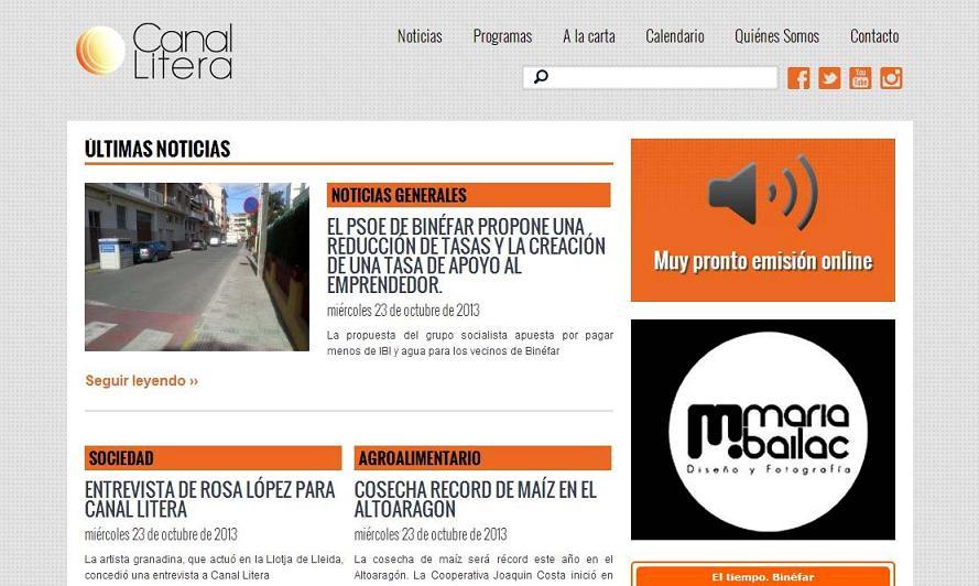 Canal Litera Radio celebra su primera emisión
