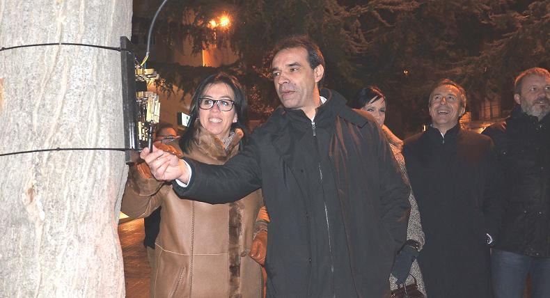 El comercio de Binéfar abre la campaña de Navidad