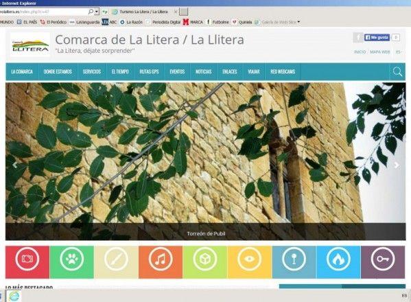 La Comarca de La Litera estrena un nuevo portal web dedicado al turismo comarcal