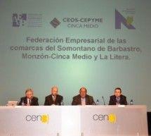 Nace la Federación Empresarial de Somontano, Cinca Medio y La Litera; sumar para competir