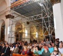 El GA destina 50.000 euros para las obras de la iglesia