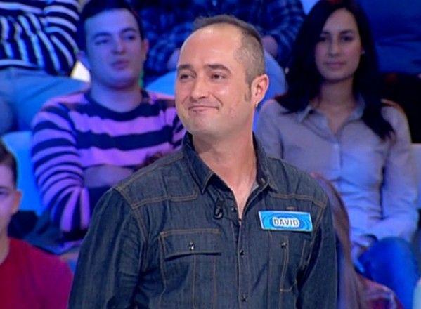 "David Muro, concursante y vencedor en ""La ruleta de la suerte"""
