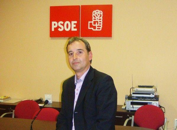 Alfonso Adán, candidato del PSOE a la alcaldía de Binéfar