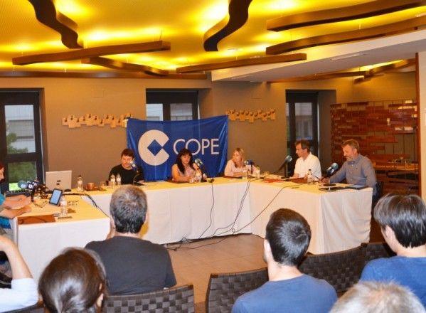 Cope Altoaragón reune en un debate a los cinco candidatos a la alcaldía de Binéfar