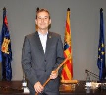 Alfonso Adán, nuevo alcalde de Binéfar