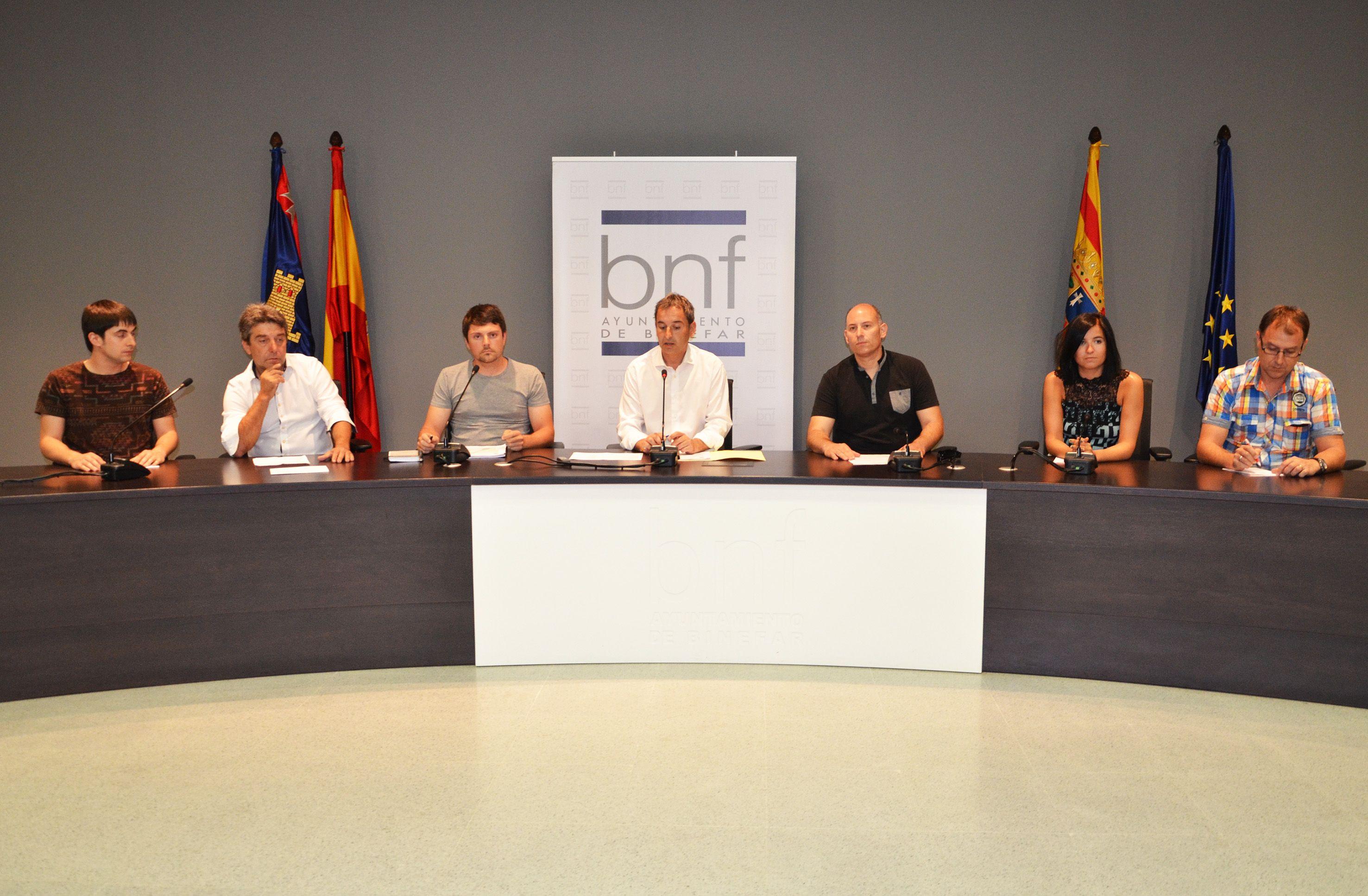 El Ayuntamiento de Binéfar tendrá once concejalías repartidas entre alcalde y seis concejales