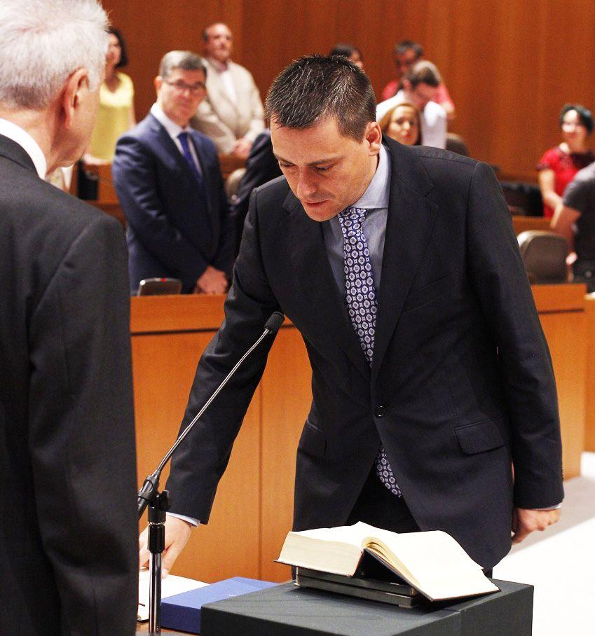 Fernando Sabés, nuevo diputado en las Cortes de Aragón