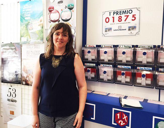 El primer premio de la Lotería Nacional toca en Binéfar