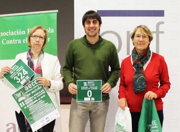 Ayuntamiento de Binéfar y AECC invitan a caminar contra el cáncer