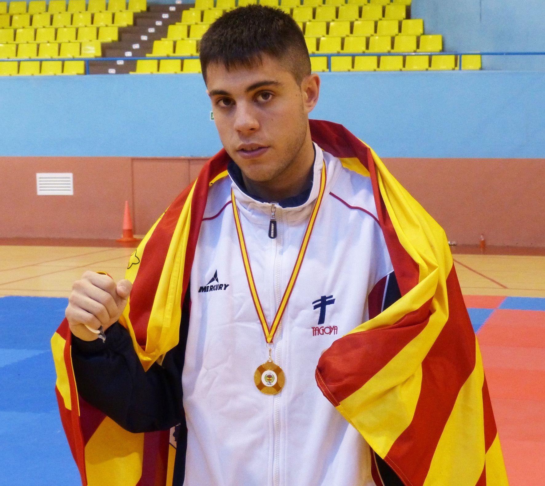 Ángel Alcoba, Campeón de España de Kickboxing