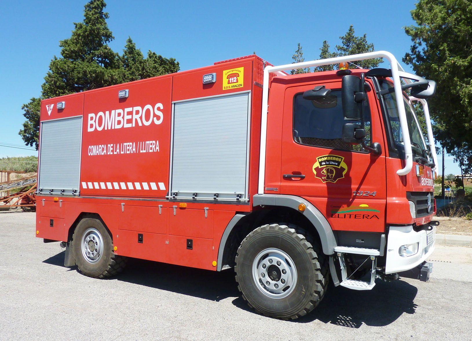 El servicio de bomberos de la comarca cierra 40 días en pleno verano