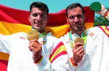 Saúl Craviotto, oro olímpico con origen petraltense