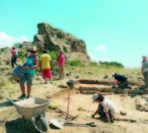 Segunda parte de las excavaciones en los Castellassos