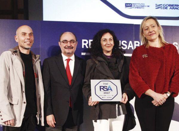 ACASA recibe el Sello de Responsabilidad Social de Aragón