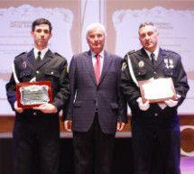 Los policías locales de Binéfar Antonio Díez y Mariano Brusau recibirán sendas condecoraciones nacionales