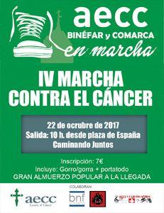 Binefar AECC IV Marcha Contra el Cancer