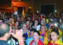 Un millar de personas dan su apoyo a la Guardia Civil y Policía Nacional