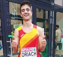 Pol Oriach, nuevo subcampeón de Europa en 2.000 m obstáculos