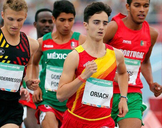 Pol Oriach comienza con buena nota su participación en los Juegos Olímpicos de la Juventud