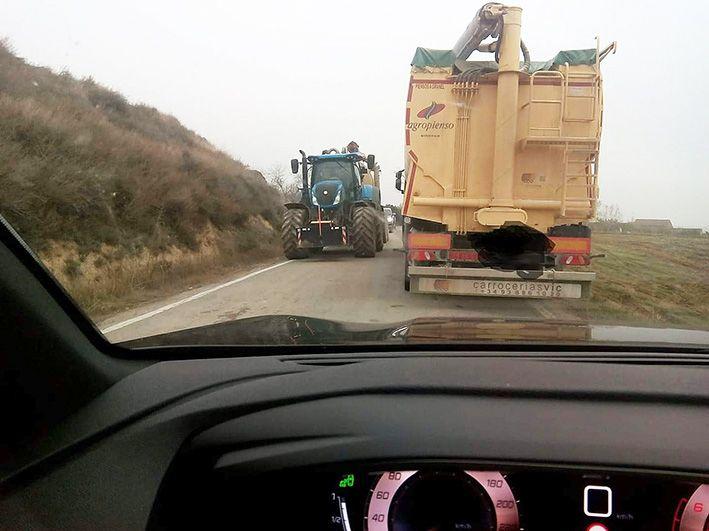 Los vecinos de Binaced y Valcarca crean una plataforma para reivindicar unas carreteras dignas