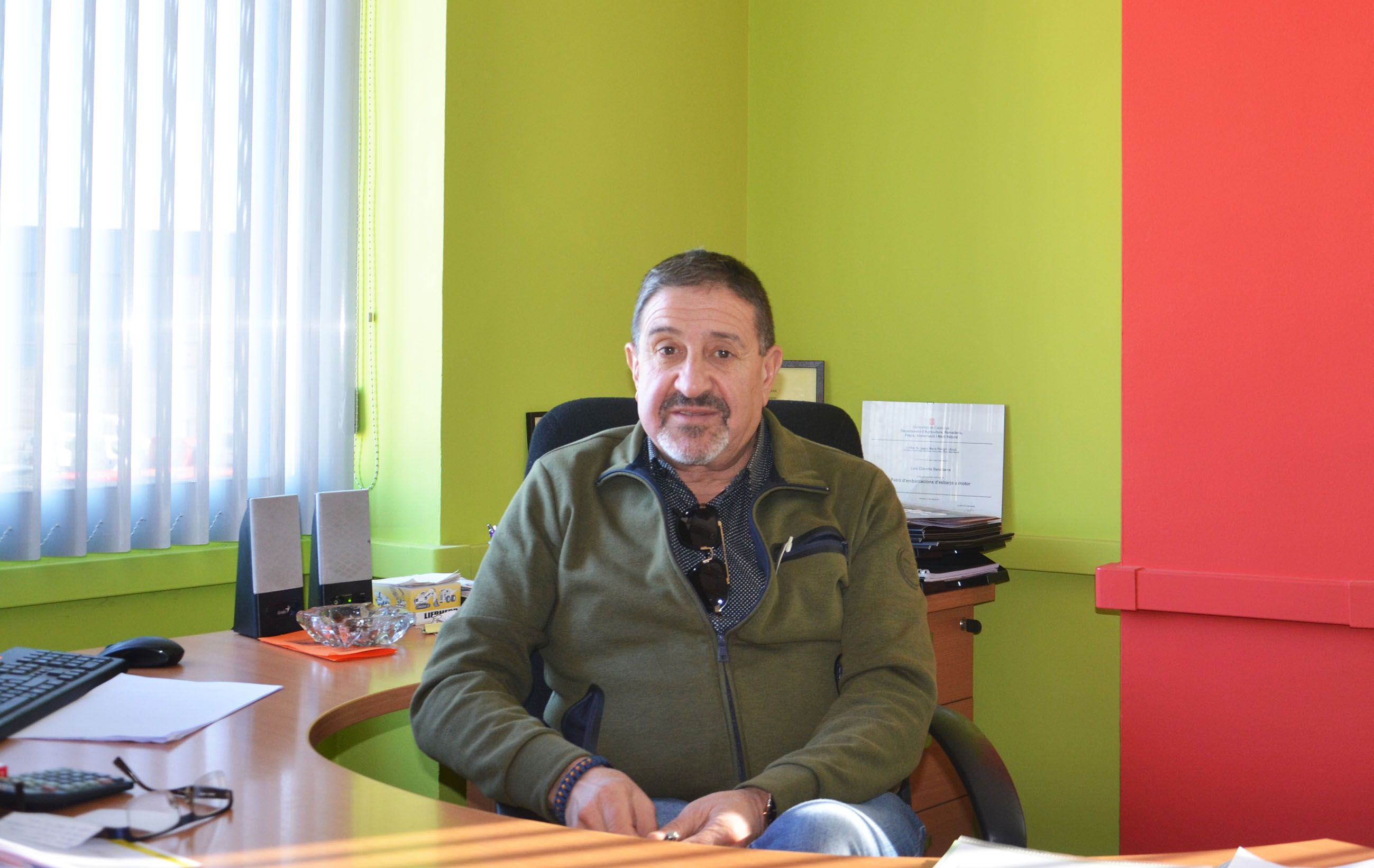 El presidente Lambán visita Fribin y las obras del colegio y centro de salud
