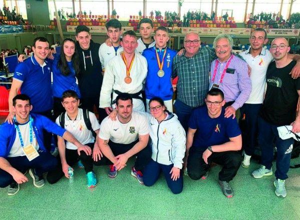 Medallas para Sergio García y Vladic Parechyn en el Campeonato de España de Judo