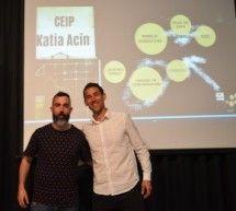Luis Morillo y Dani Llaquet, nuevos responsables del equipo de dirección del CEIP Katia Acín