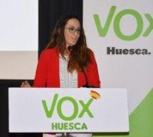 Beatriz Oliván, candidata de VOX a la alcaldía de Binéfar