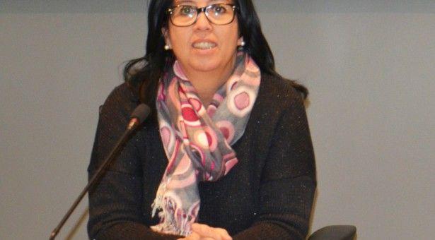 Eli Terán, candidata del PAR a la alcaldía de Binéfar