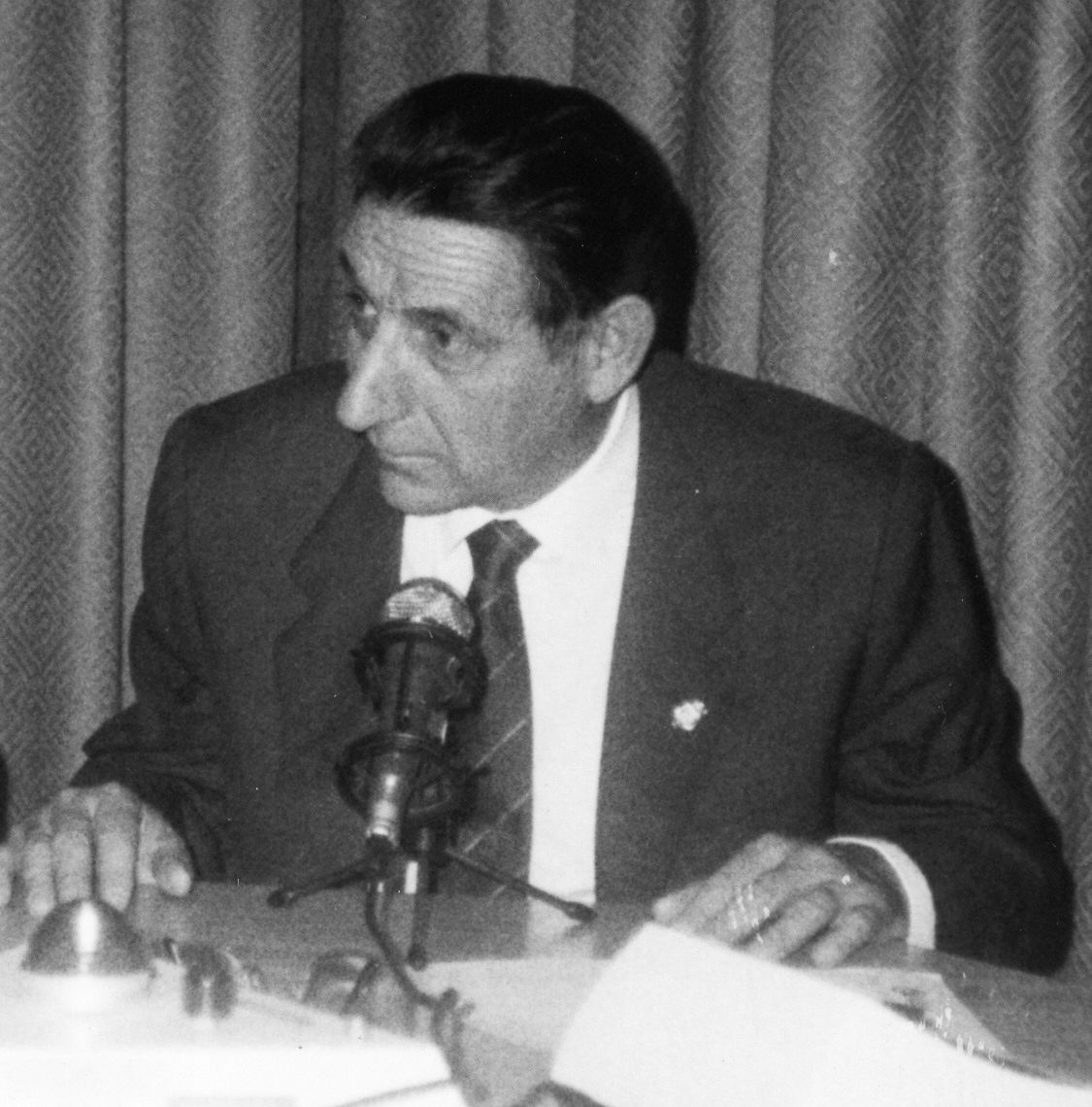 Fallece Miguel Ángel Fran, exalcalde de Binéfar