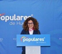 Pilar Bernad presenta su candidatura por el PP a la alcaldía de Binéfar