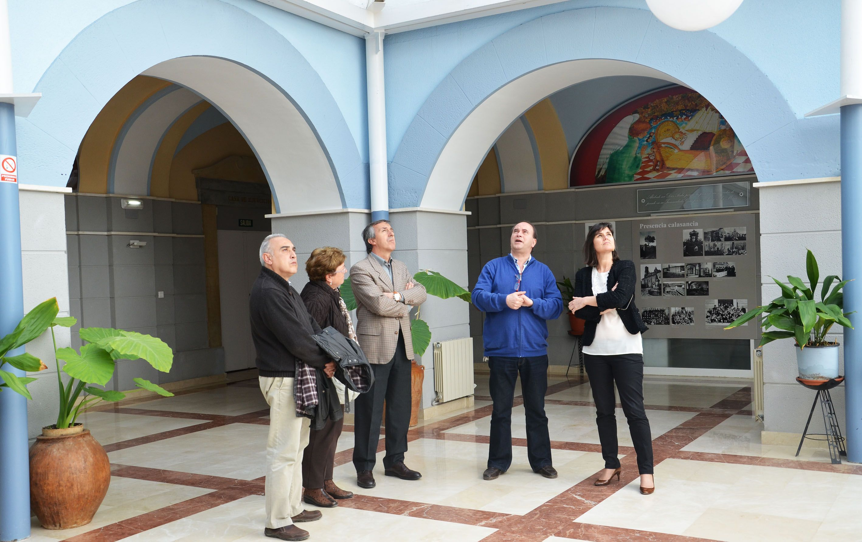 La directora general de Turismo abre la puerta al turismo idomático en Peralta de la Sal
