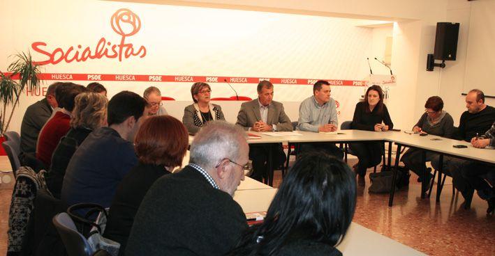 Fernando Sabés, número tres en la candidatura del PSOE por Huesca a las Cortés de Aragón