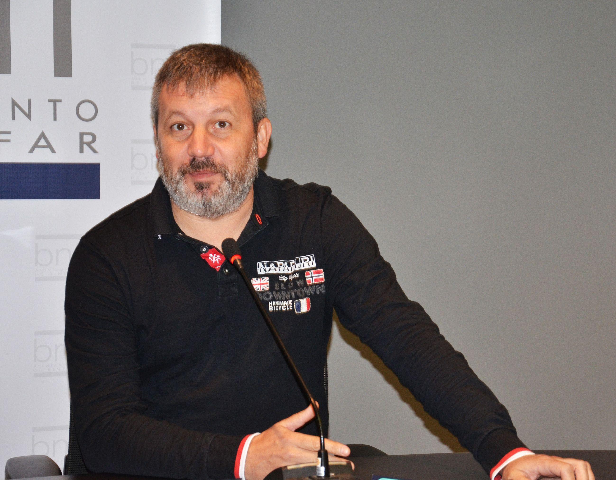 Carlos Corzán Badías, candidato a la alcaldía de Binéfar por el PP