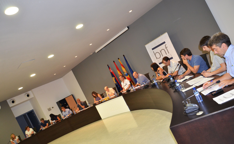 Daniel Isábal tendrá una dedicación parcial de media jornada en el Ayuntamiento de Binéfar