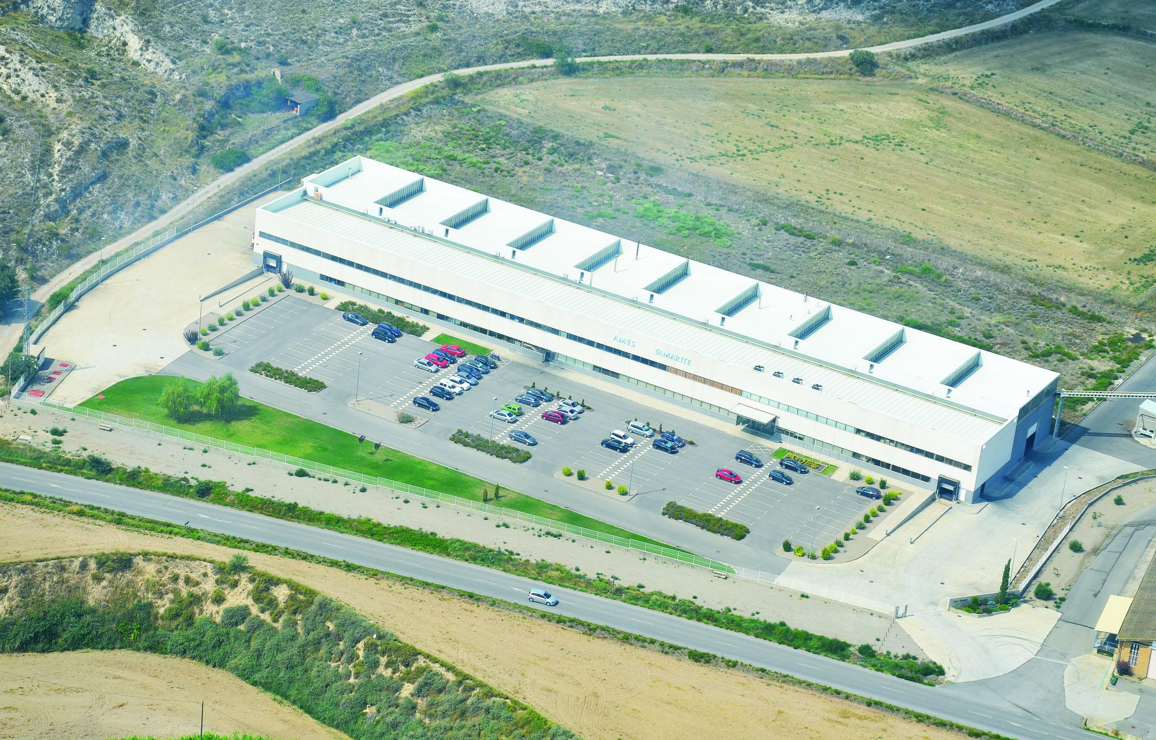AMES amplía su fábrica de Tamarite de Litera