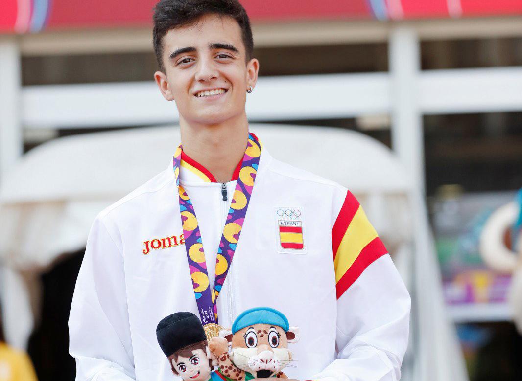 Pol Oriach, Campeón Olímpico Europeo