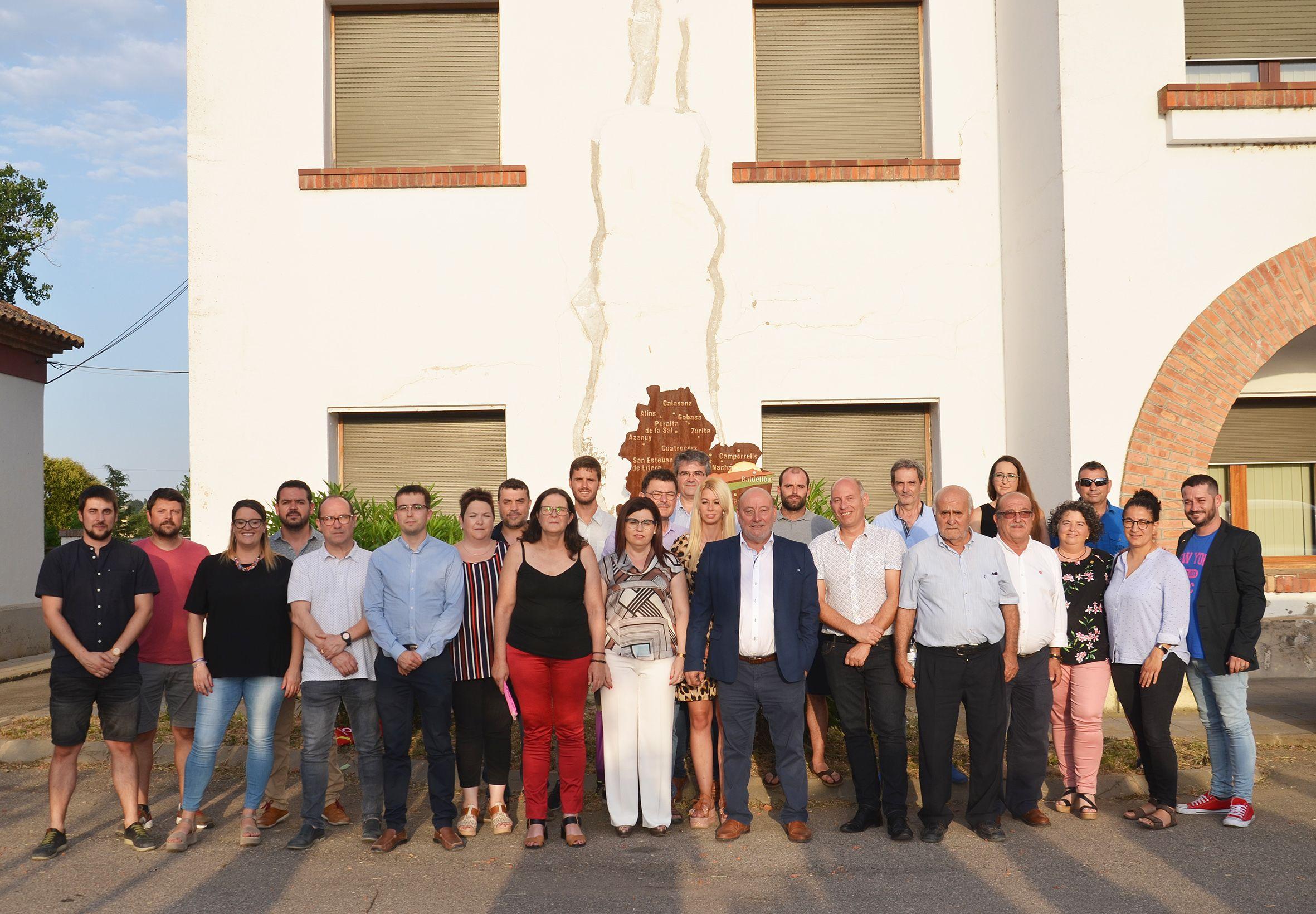 Josep Anton Chauvell es reelegido presidente de la Comarca de La Litera
